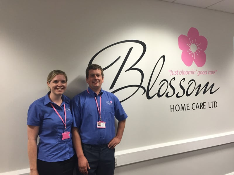 Blossom Home Care John and Fiona
